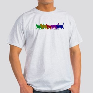 Rainbow cats Light T-Shirt